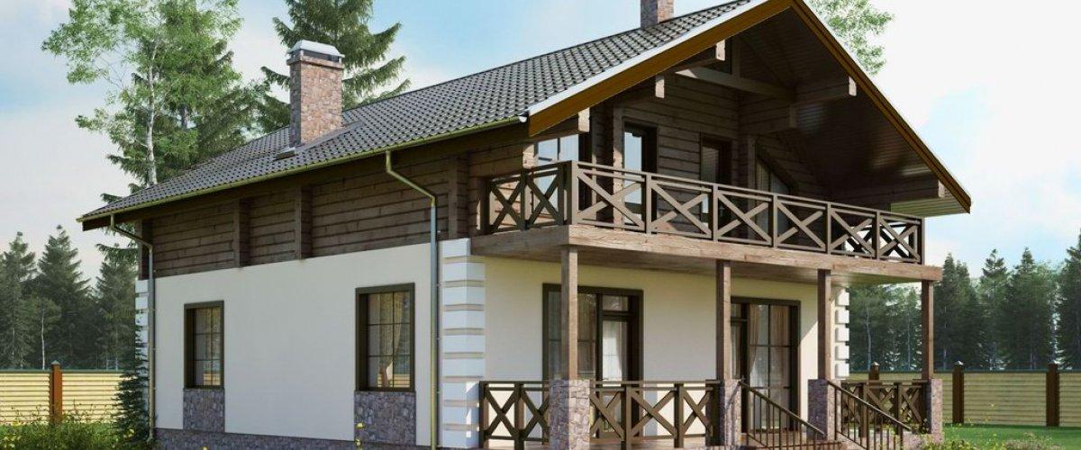 Комбинированный дом КД-193