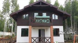 Готовый дом по проекту КК-143