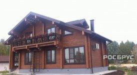 Готовый дом и баня в Земляничной Поляне