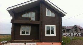 Дом из бруса в поселке Караулово