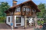 Проект каркасного дома КК-143, 10х8 м - 1