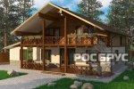 Проект комбинированного дома КД-278, 15,0 х 14,5 м - 1