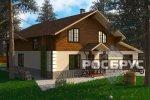 Проект комбинированного дома КД-278, 15,0 х 14,5 м - 2