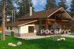 Проект комбинированного дома КД-278, 15,0 х 14,5 м - 3