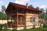 Проект каркасного дома КК-111, 10,7 х 7,0 м - 2