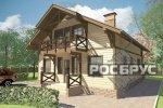 Проект каркасного дома КК-192, 9х10 м - 1