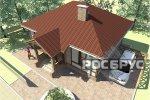 Проект каркасного дома КК-71, 10х8 м - 2