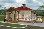 Проект каркасного дома КК-71, 10х8 м - 3